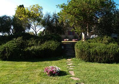 Agriturismo Fontepietri - Particolare giardino