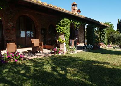 Agriturismo Fontepietri - Particolare veranda