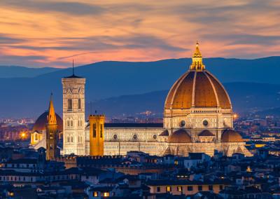 Firenze - Duomo al tramonto